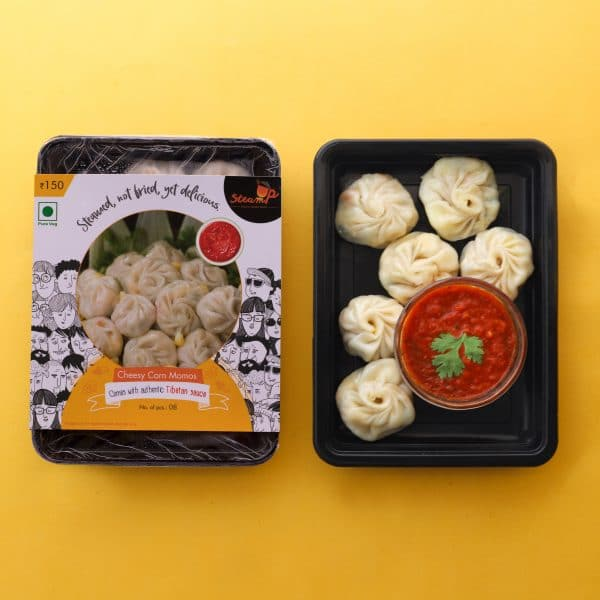 Cheese Corn Momos