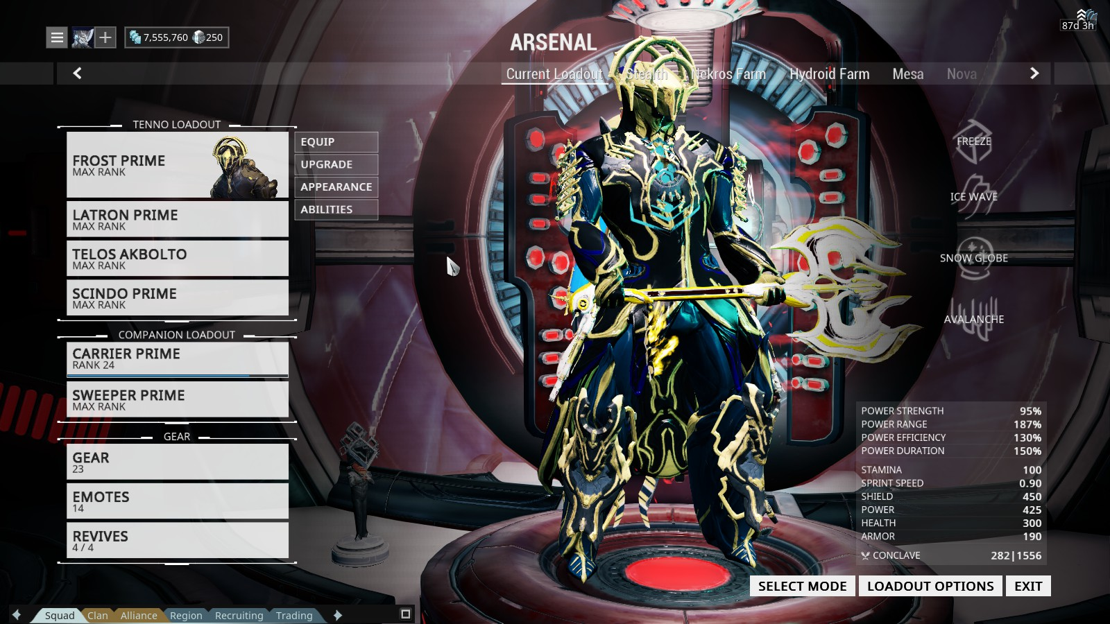 frost fashion frame
