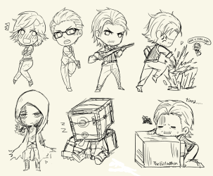 Steam Community :: :: The Evil Within Chibi