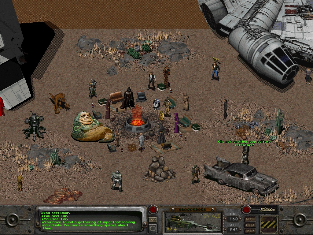 Playing In The Fall Wallpaper Steam Community Fallout 2