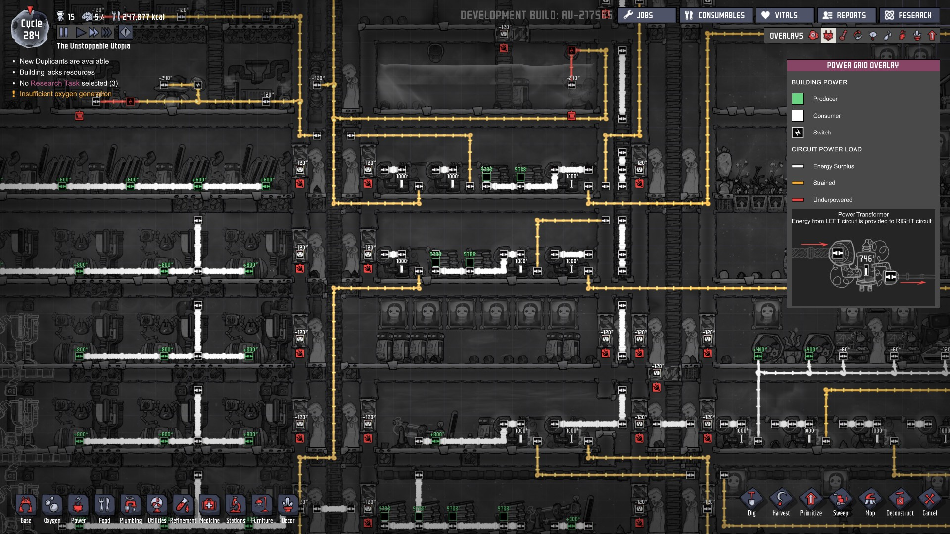 hight resolution of those heavy wires are connected to the other side of my base and at that end it also got transformers distributing power for that sector