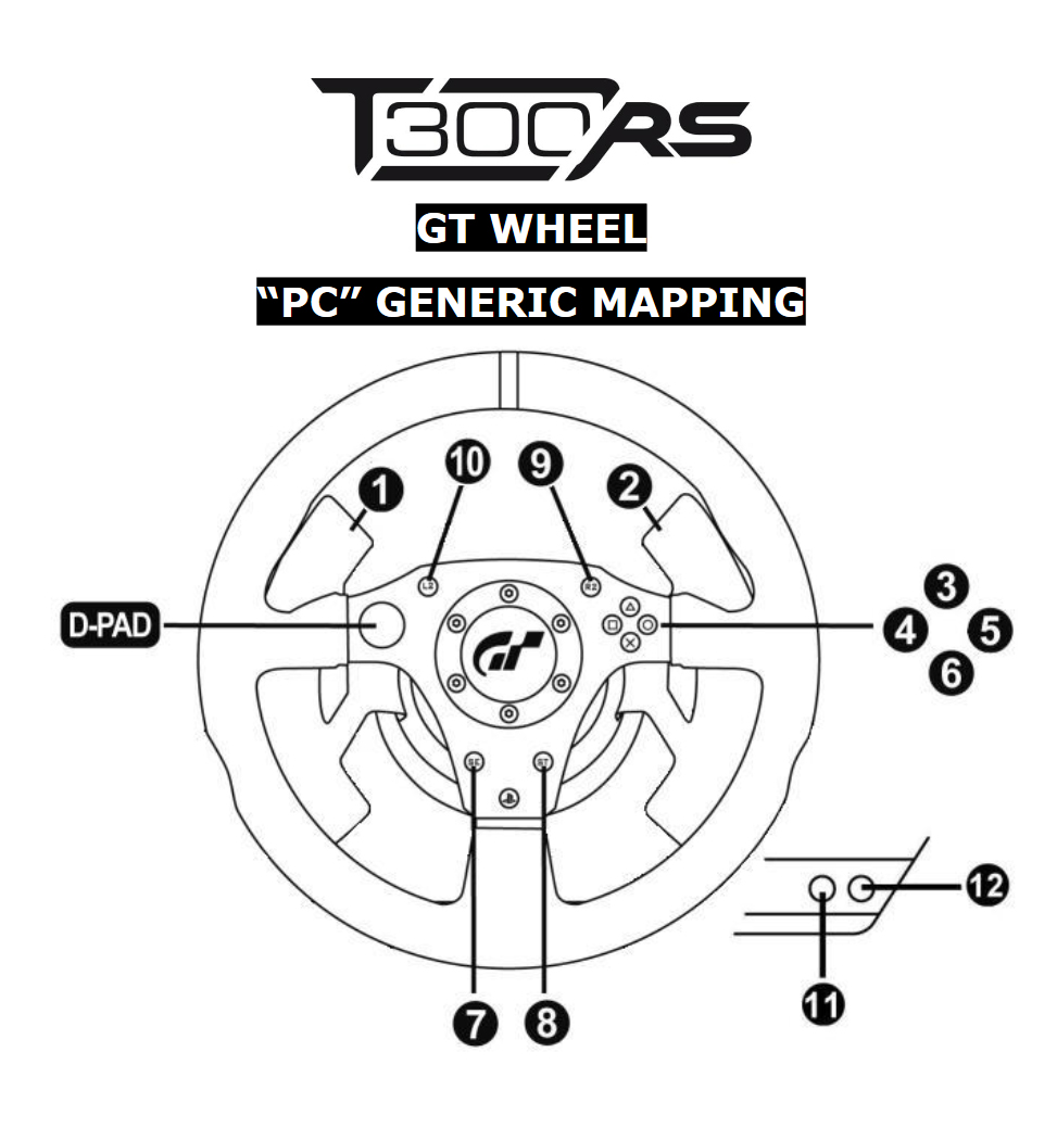 Steam Community :: Guide :: How to Setup T300RS GT Wheel