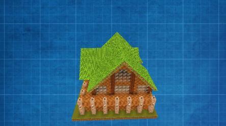 Steam Workshop::minecraft handbook starter house furnished