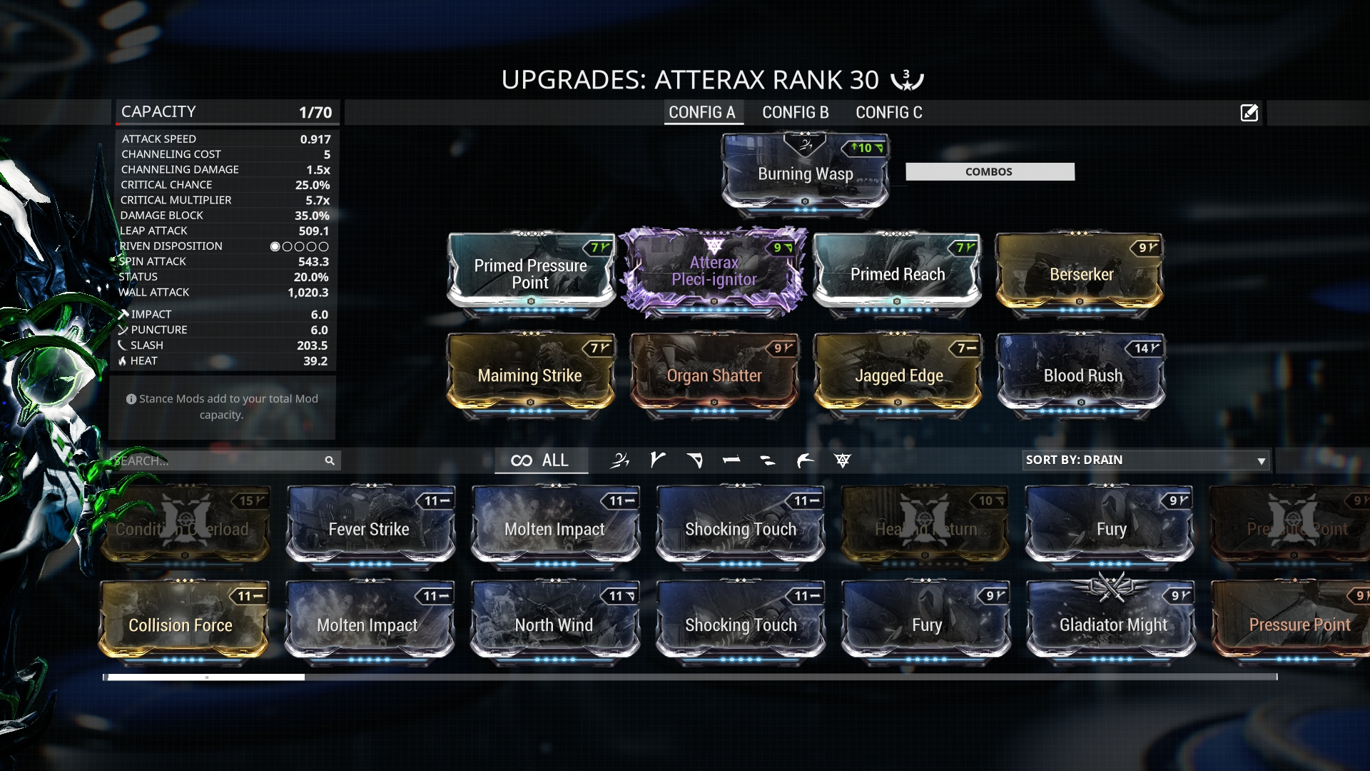 Warframe Nidus Build Endo Farm