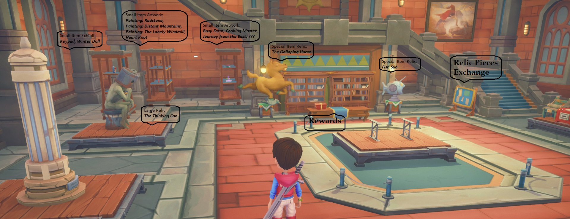 guide my time at portia