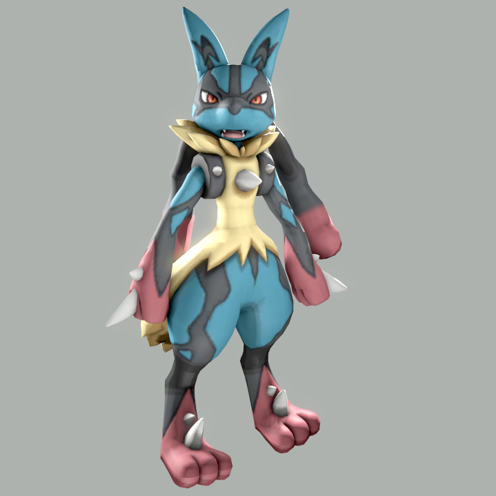 steam workshop mega lucario
