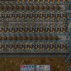 Electric Furnace Factorio Yamaha 350 Warrior Wiring Diagram Steam Community Guide Mid Late Game Layout