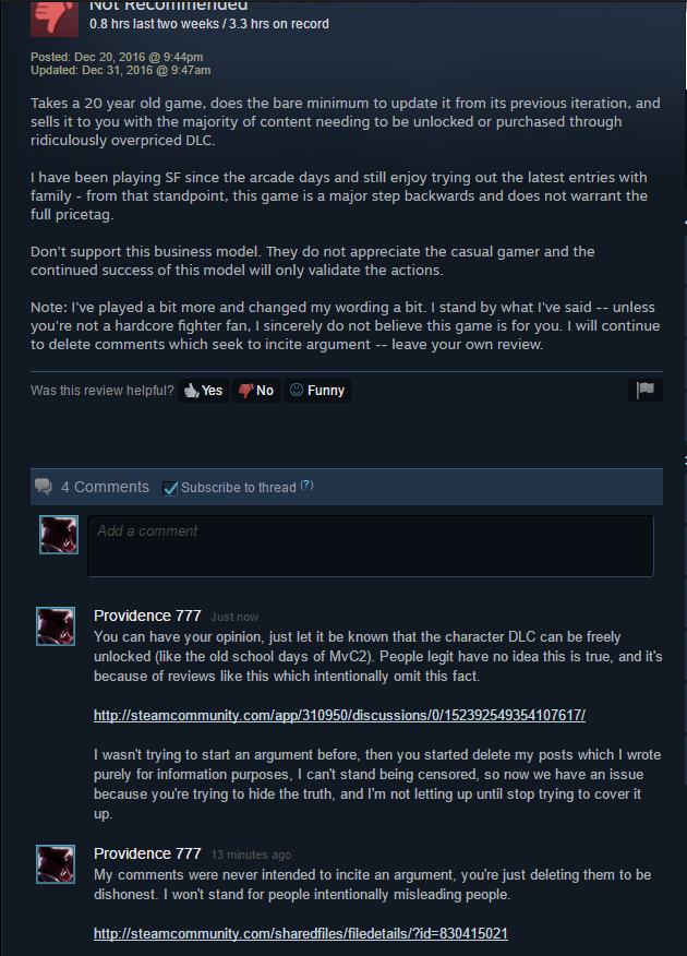 Funny Steam Comments : funny, steam, comments, Steam, Community, Dishonest, Reviewers, Justify, Censoring, Criticism