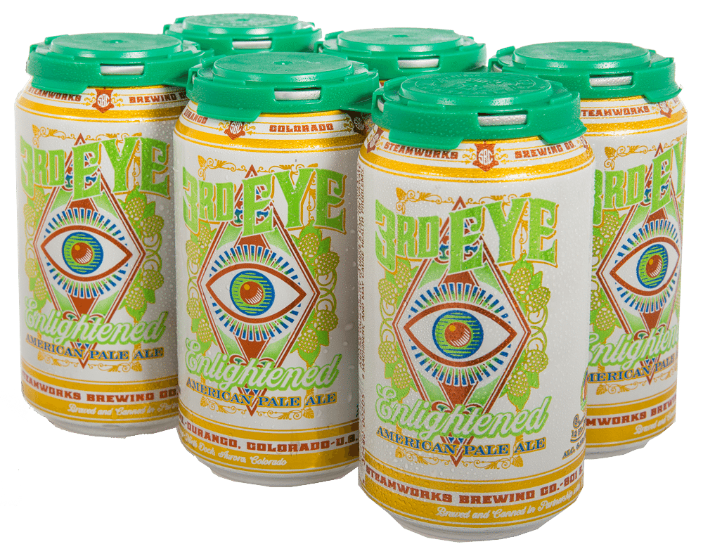 Get third eye pale ale to go in a six pack or growlers durango co