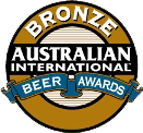 Australian International Beer Awards Bronze Medal