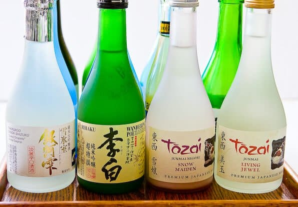 Sake  Rice wine or beer