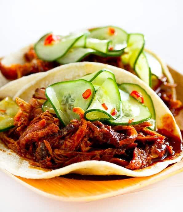 Korean Style Tacos with Kogi BBQ Sauce  Steamy Kitchen