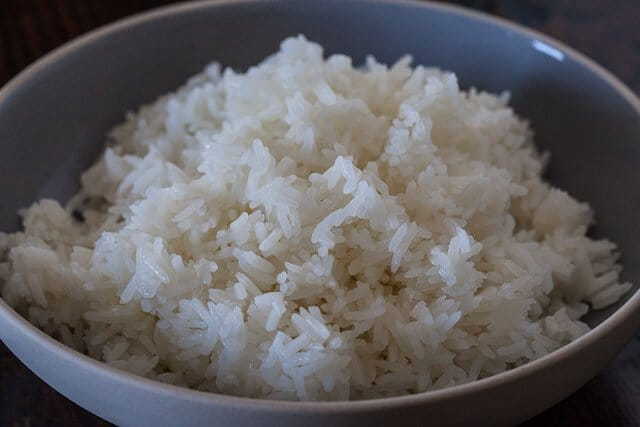 Image of a cup of cooked rice