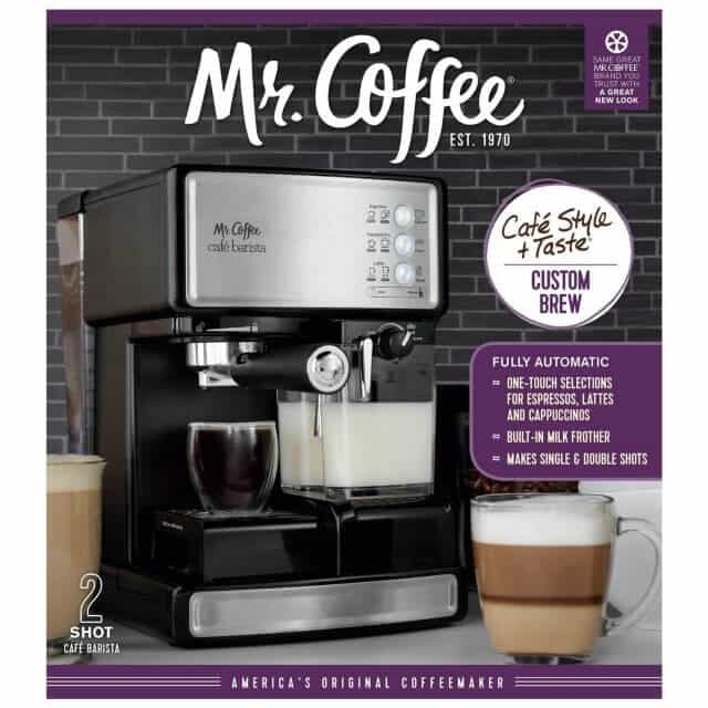 Mr Coffee Cafe Barista Review and Giveaway Steamy Kitchen Recipes