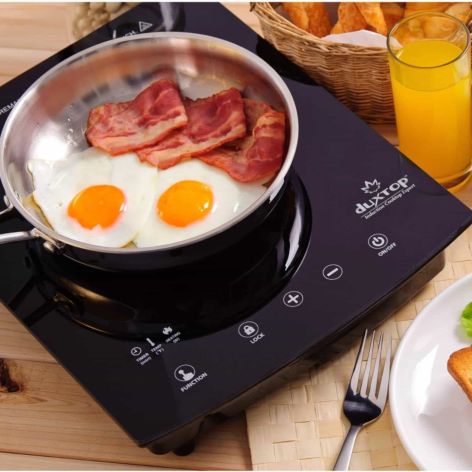 Duxtop 8300ST Portable Induction Cooktop Review  Giveaway