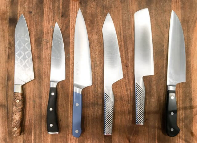 global kitchen knives cabinet ideas for small kitchens misen knife review & giveaway • steamy recipes