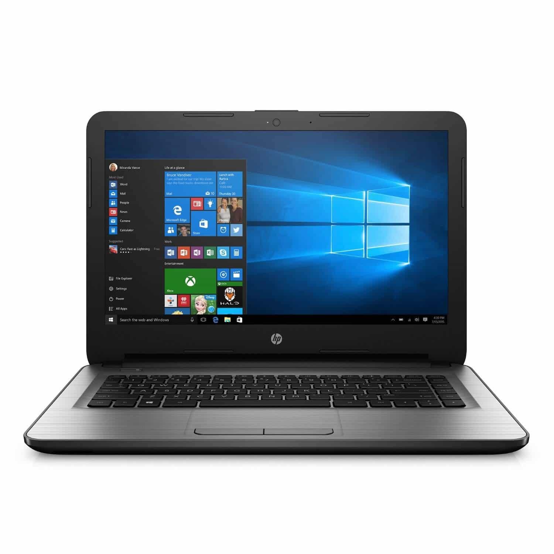 HP 14Inch Notebook Windows 10 AMD E27110 Quad Core