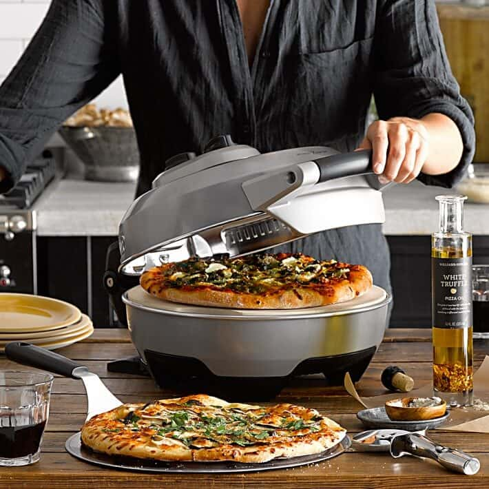 Breville Crispy Crust Pizza Maker Review  Giveaway