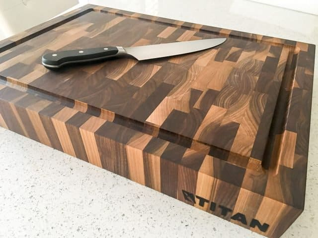 kitchen cutting boards stainless steel kitchens titan butcher blocks review the best board we ve found end grain