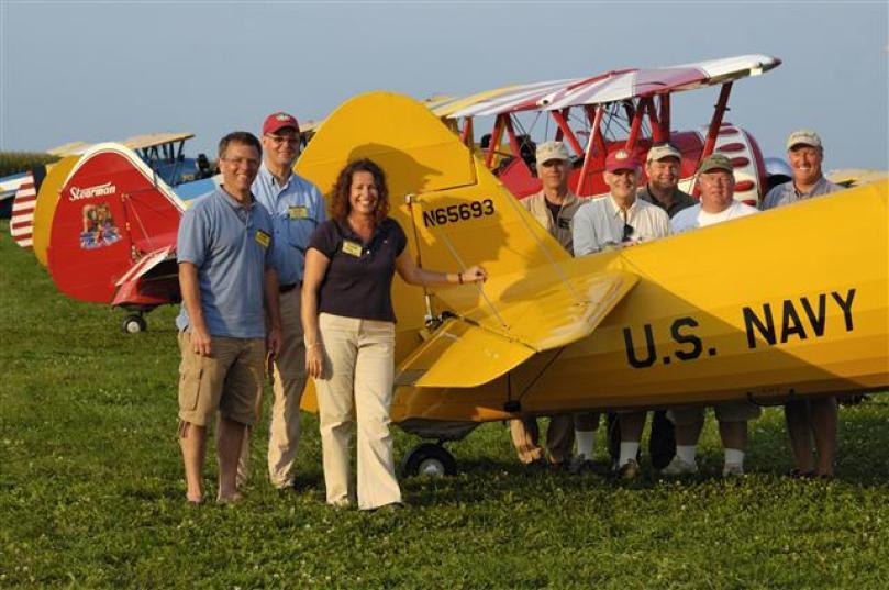 Stearman Flight group 2009