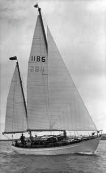 ceol-mara-under-sail
