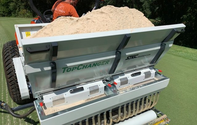 Sand Filled Hopper