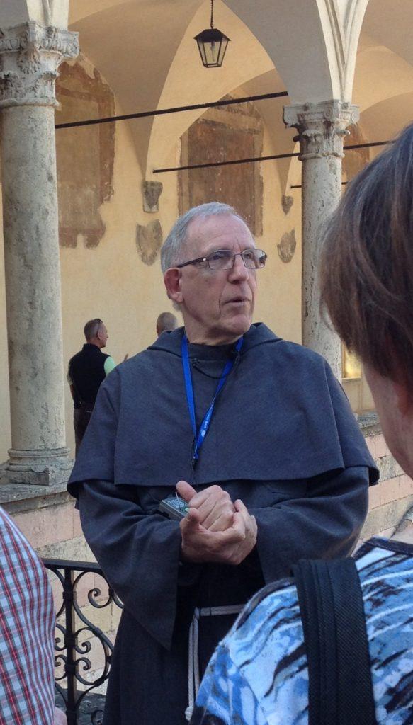 Broder Theodor, Assisi, Umbrien, Italien