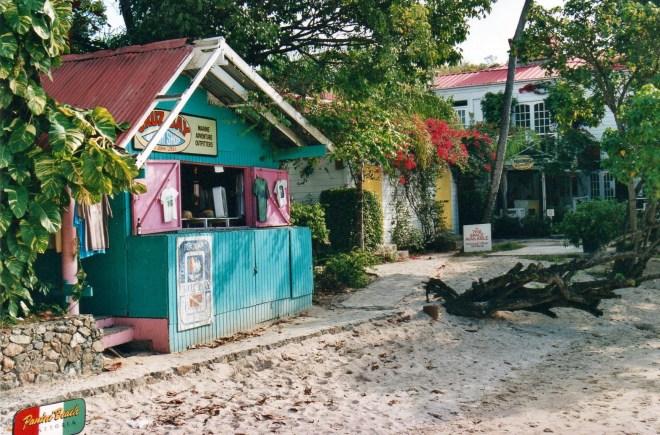 Cruz Bay, St. John, US Virgin Islands.