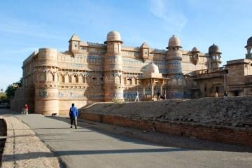 Gwalior Fort, Madhya Pradesh, Indien. © Bitten Holmsgaard