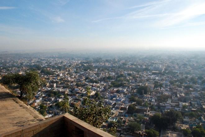 Udsigt fra Gwalior Fort, Madhya Pradesh, Indien. © Bitten Holmsgaard.