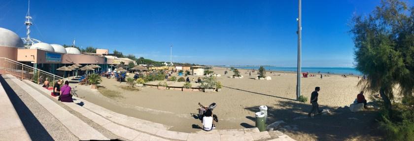 Strandtur i Venedig