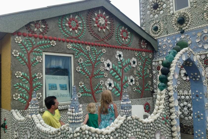 Sneglehuset i Thyborøn - som taget ud af et eventyr