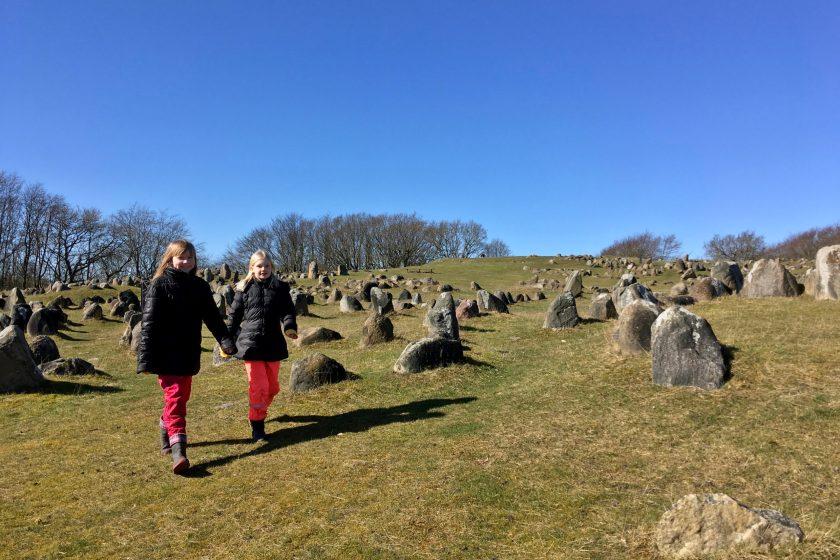 Lindholm Høje - vikingernes hvilested