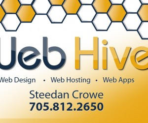 Business Card for Web Hive
