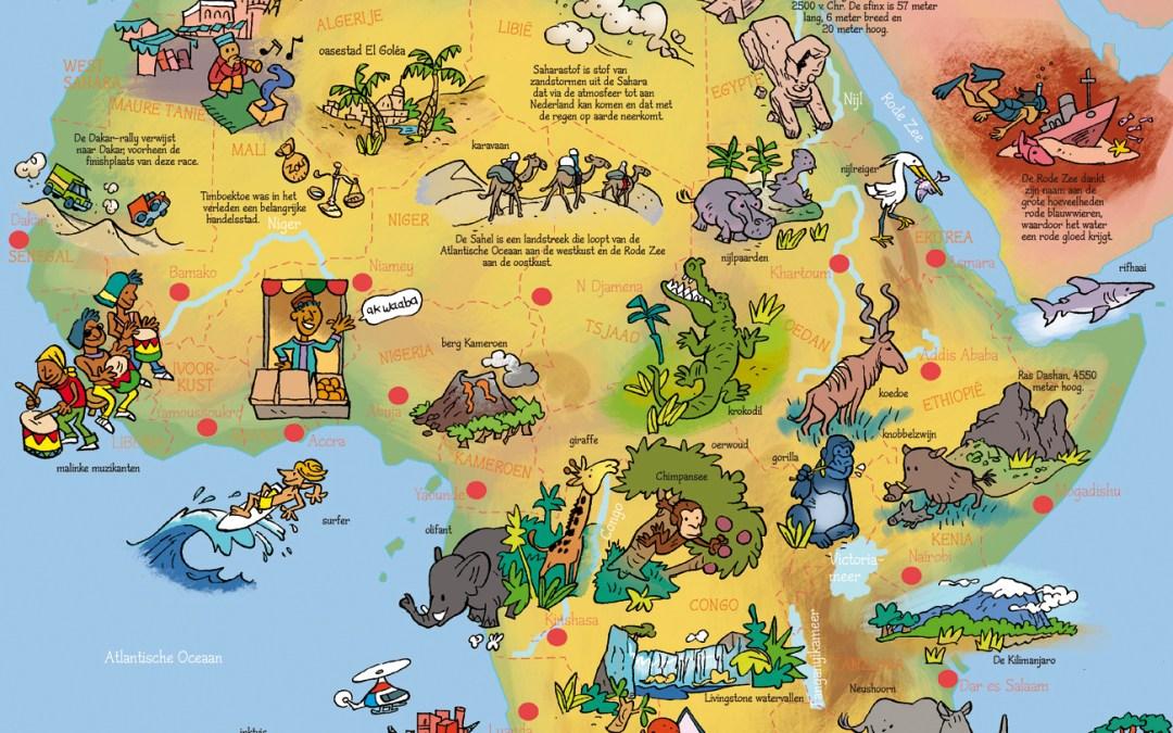 Geïllustreerde atlas