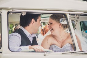 VW Camper Wedding Ride 000000000