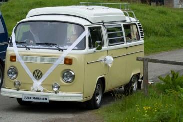 VW Camper Wedding Ride 0000000000x