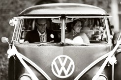 VW Camper Wedding Ride 0000