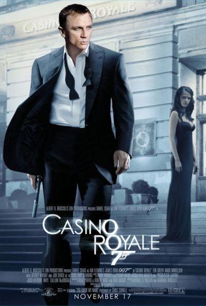 James Bond 007 Casino Royale Gary Trotman Steelasophical