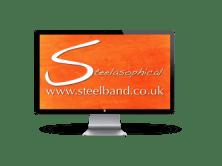 Steelasophical Caribbean Steel Band Dj logo eeerr