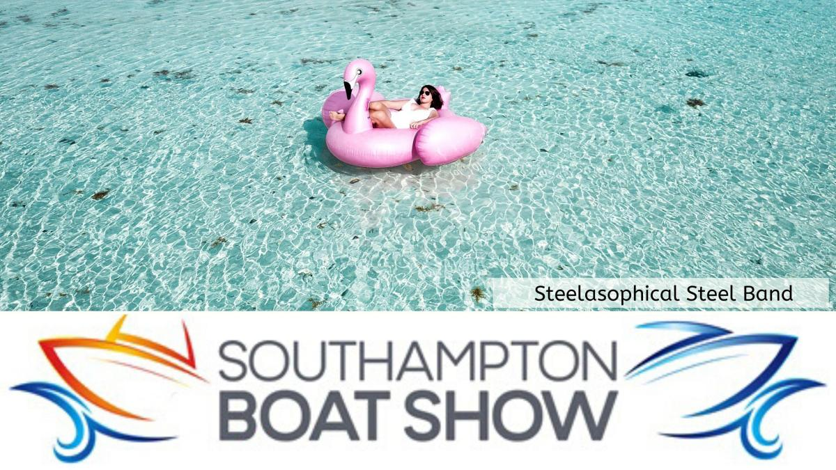 Steelasophical Steel Band Southampton Boat Show Yacht Market Music Stage 077