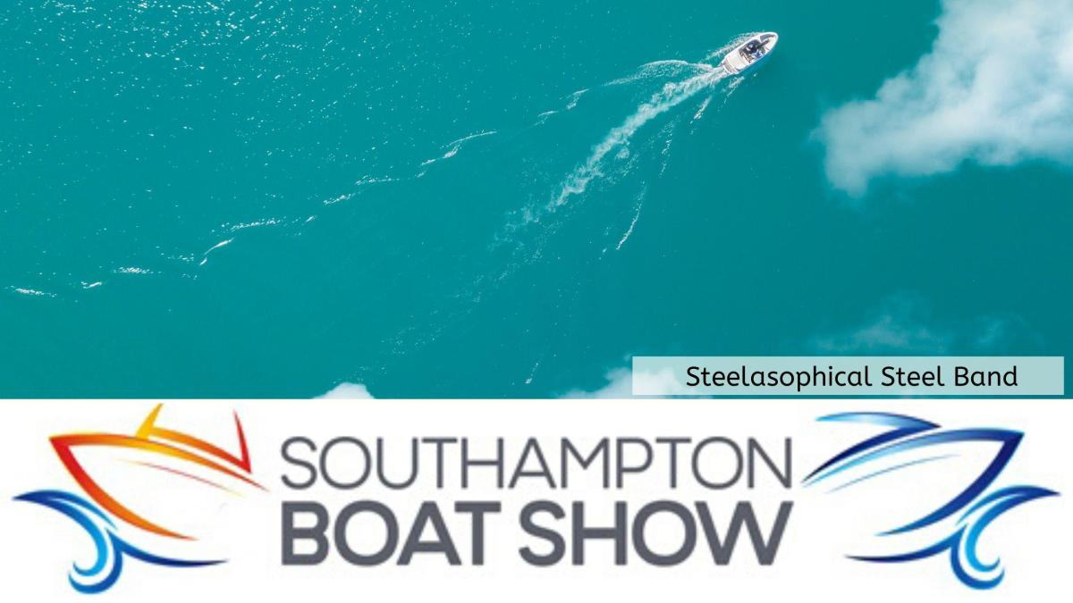 Steelasophical Steel Band Southampton Boat Show Yacht Market Gary Trotman