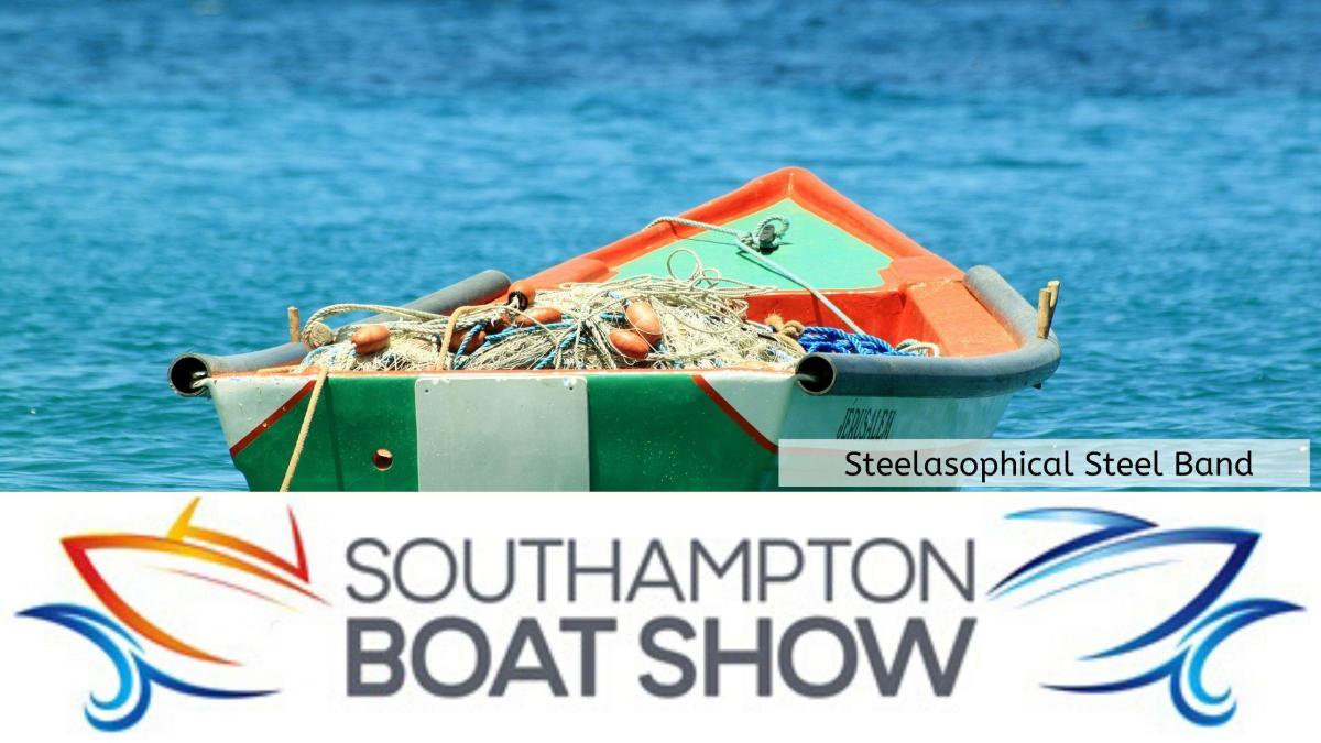 Steelasophical Steel Band Southampton Boat Show Yacht Market d34