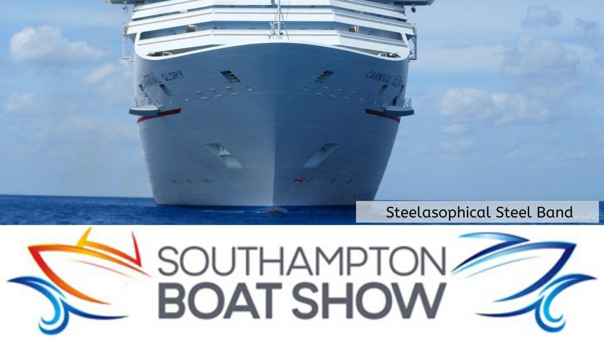 Steelasophical Steel Band Southampton Boat Show Yacht Market 8wd