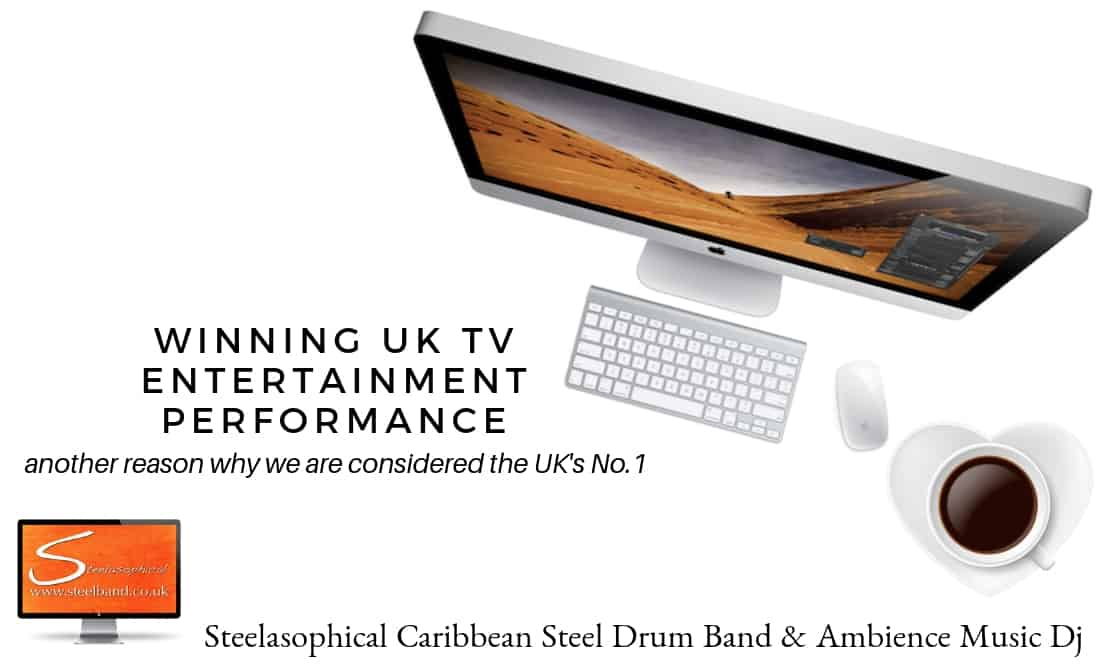 Come dine with me - Steelasophical steel pan band