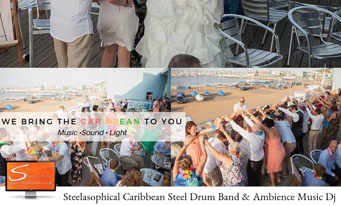 Steelasophical steel band for weddings contact us by clicking here now