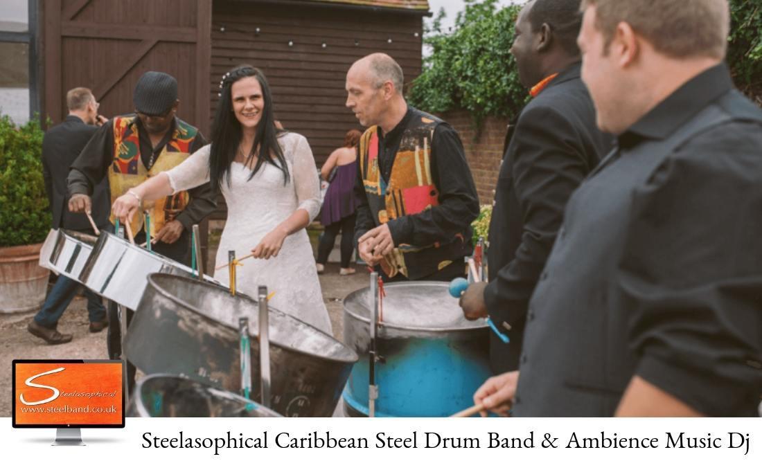 Steelasophical Steel Band Trio Band