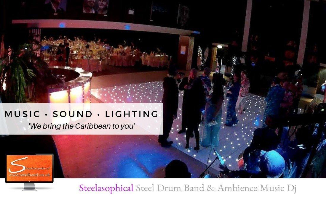 Steelasophical wedding steel band DJ | school dance