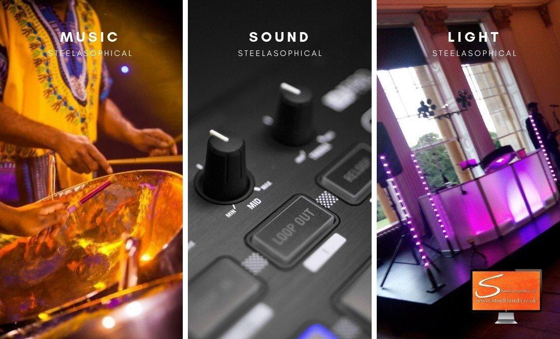 Steelasophical Steel Band Ambience Music Dj Music Sound Lighting