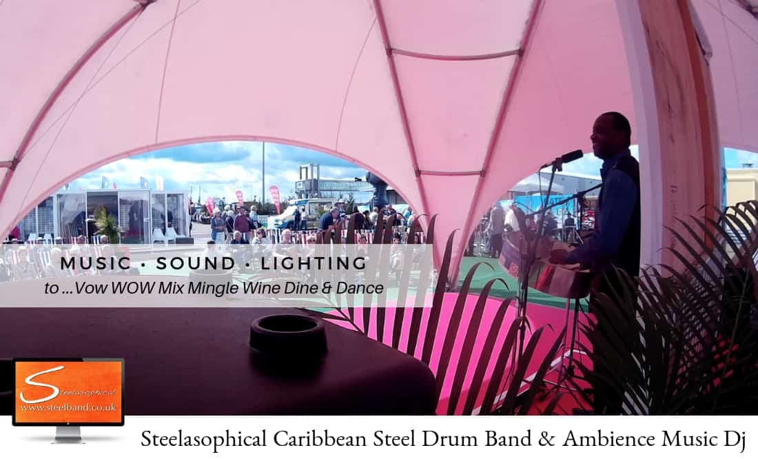 Steelasophical steel Pan Drum Band band DJ Steelpan |Southampton Boat Show. SOTON